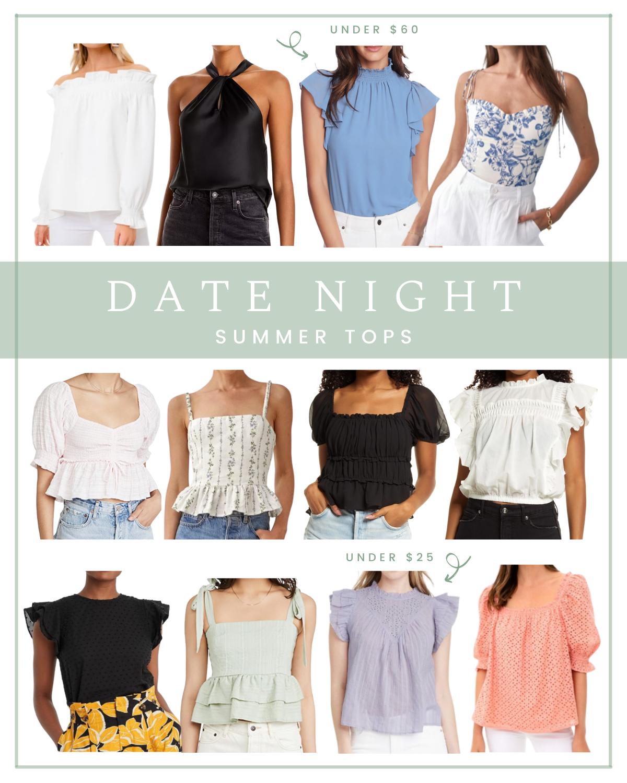 Summer Date Night Tops