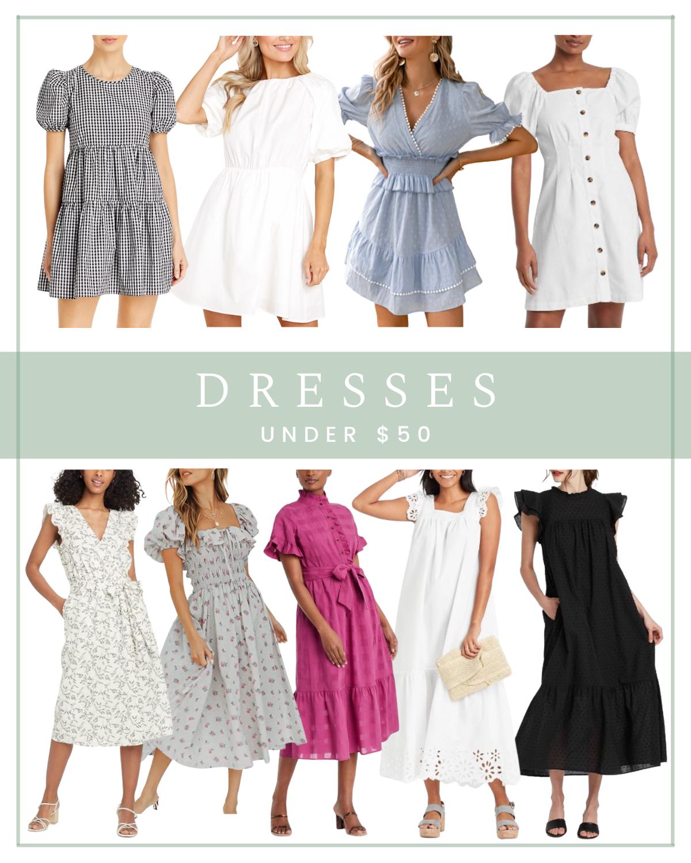 9 Dresses Under $50