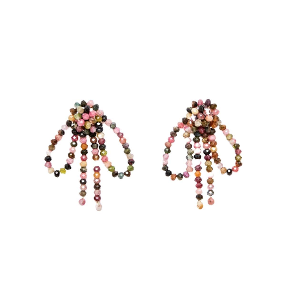 Beaded Bow earrings