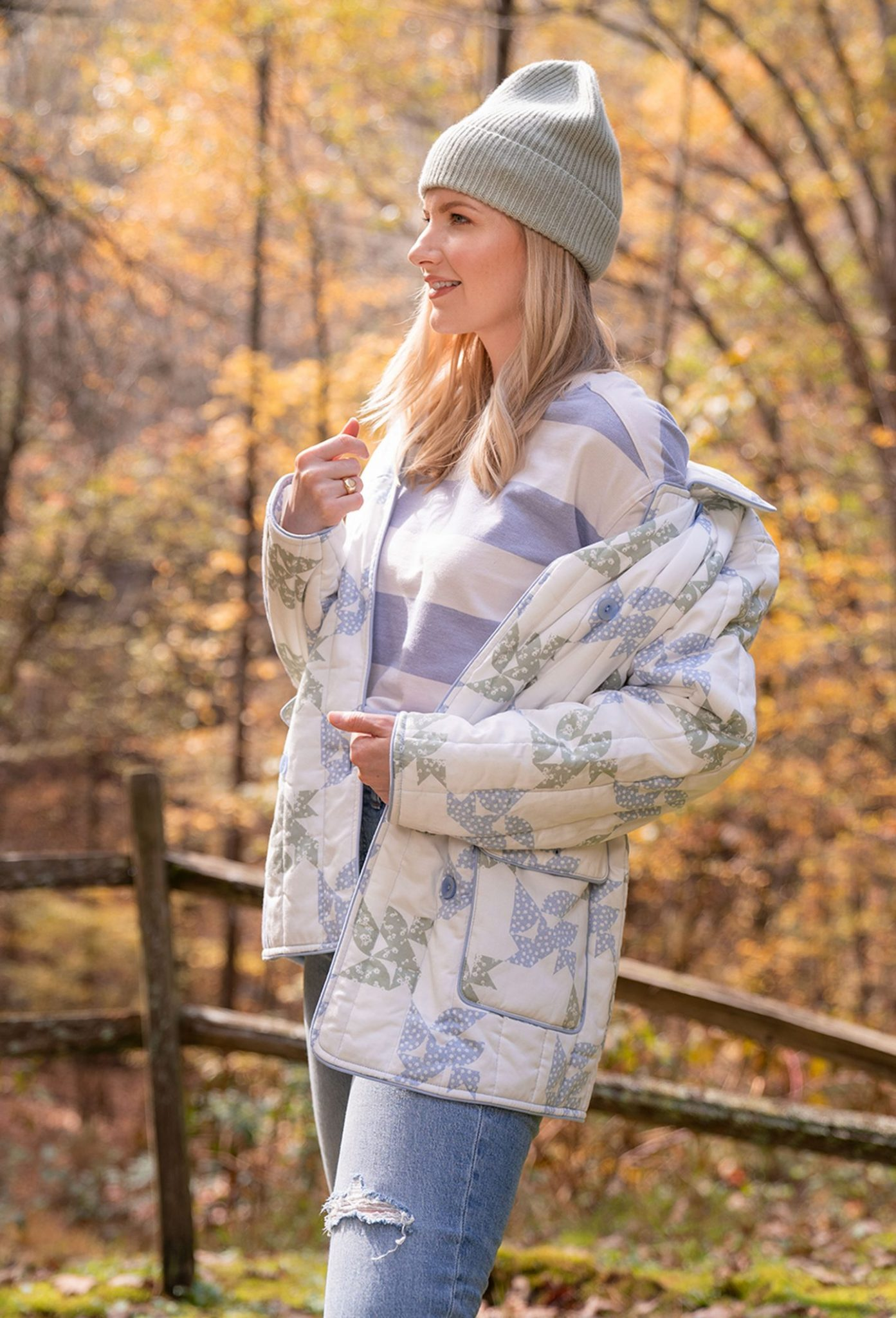 How to layer patterns