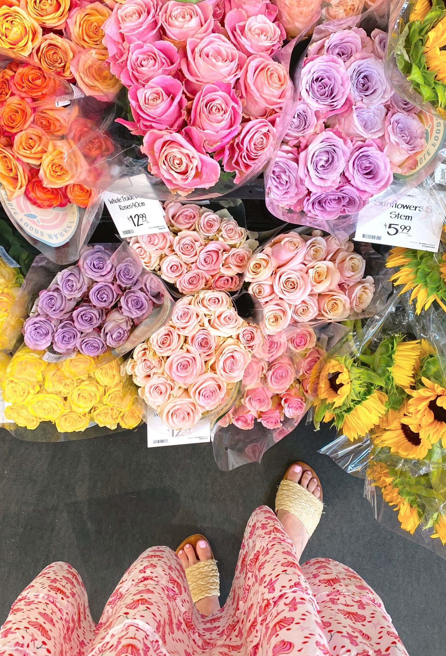 Roses and Nap Dress   MINI SUMMER BREAK