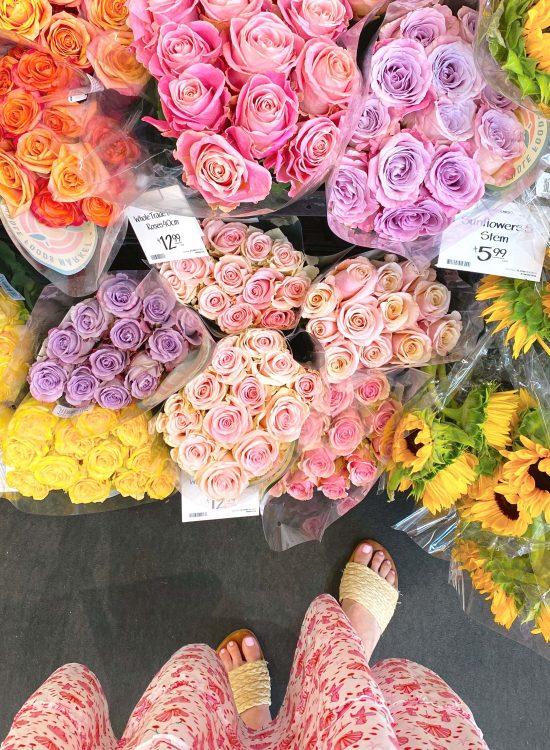Roses and Nap Dress | MINI SUMMER BREAK