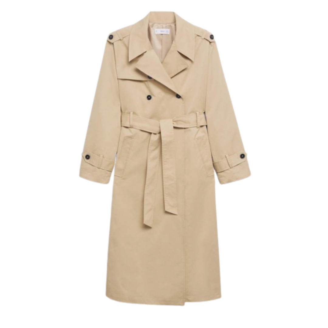 Mango Classic Cotton Trench Coat | 5 Fall Key Pieces Under $200