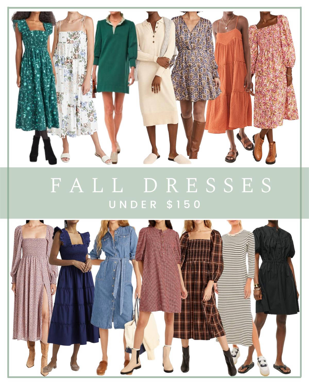 Fall Dresses Under $150