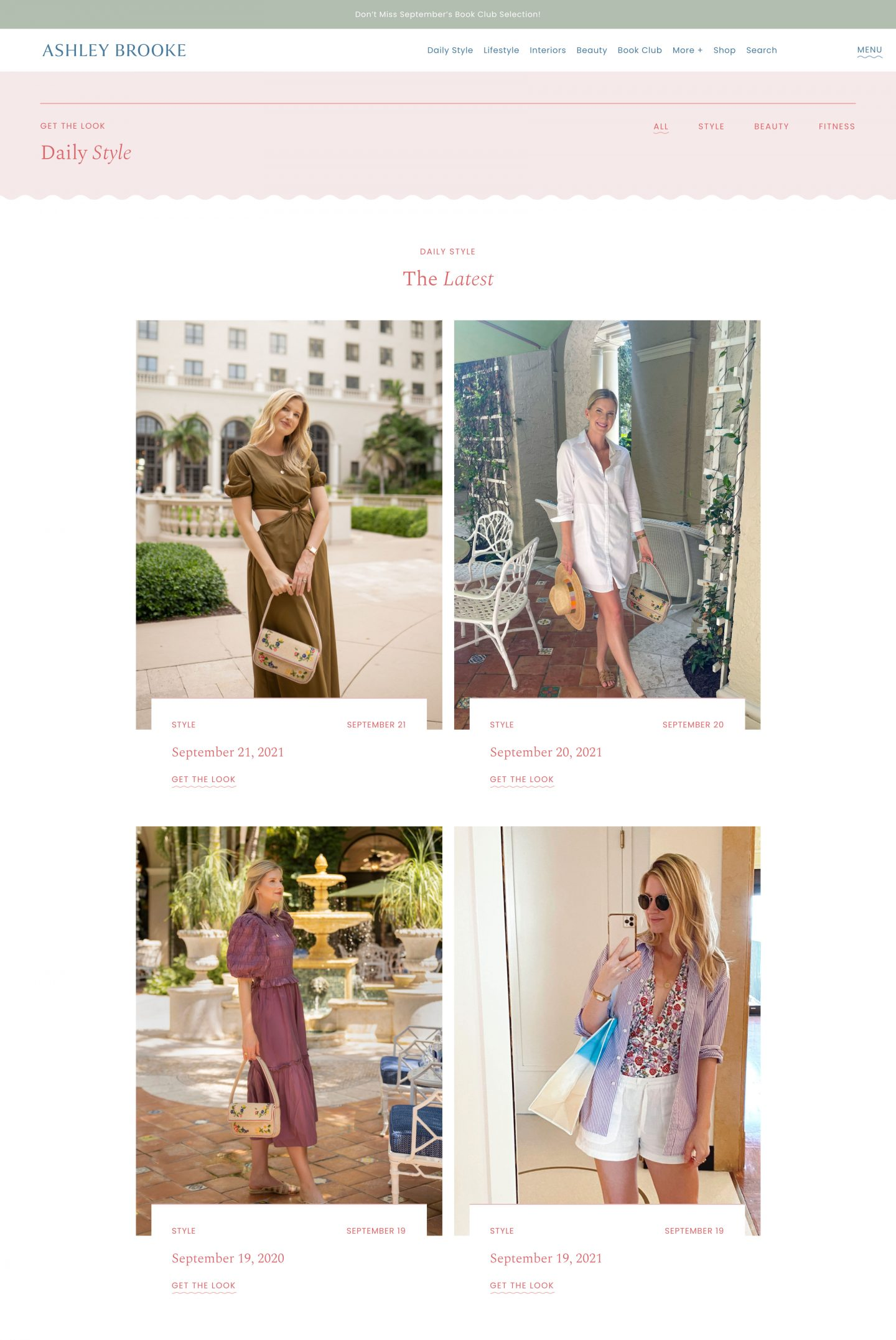 Our New Online Home ashleybrooke.com | The Daily Style