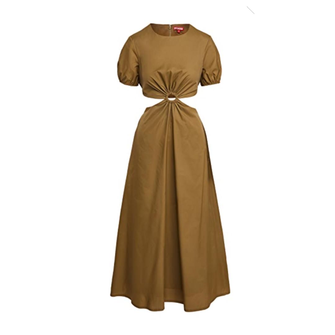 Staud Calypso Cut Out Dress