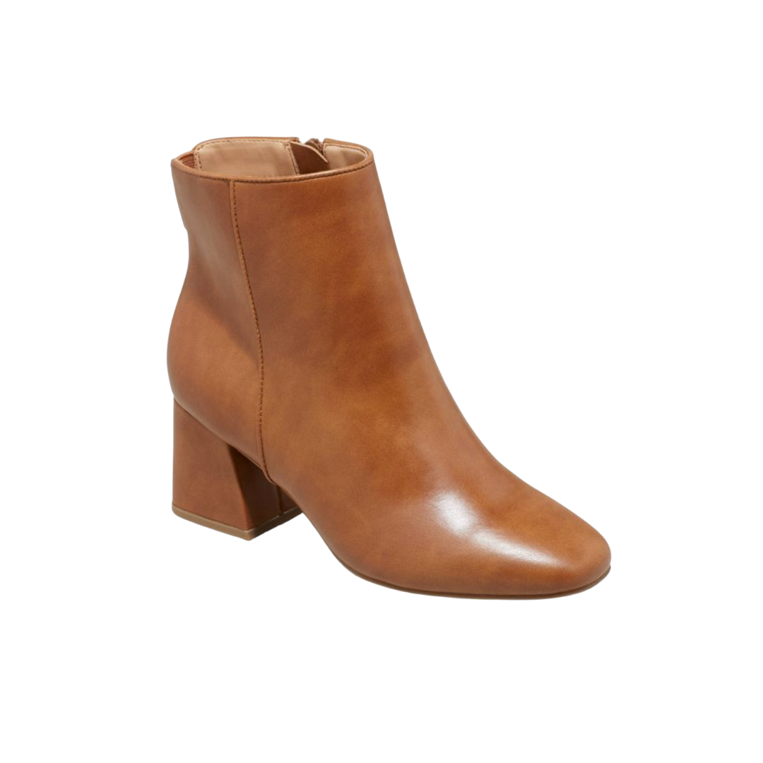 Under $100 Fall Style - FAUX LEATHER BOOTIES