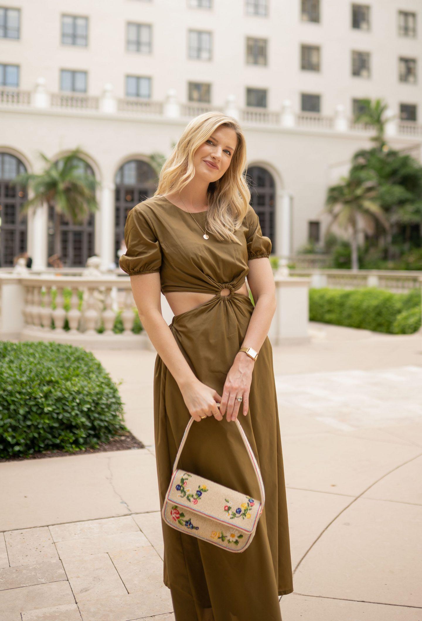 Making a Fall Statement | Staud Calypso Dress
