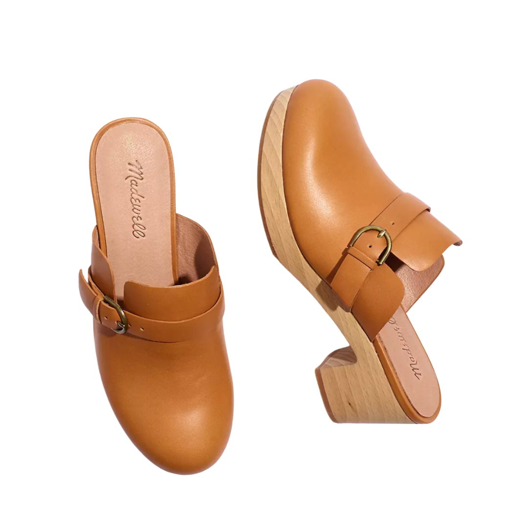 Madewell - The Monique Buckle Clog | Monday Morning Musings | 181