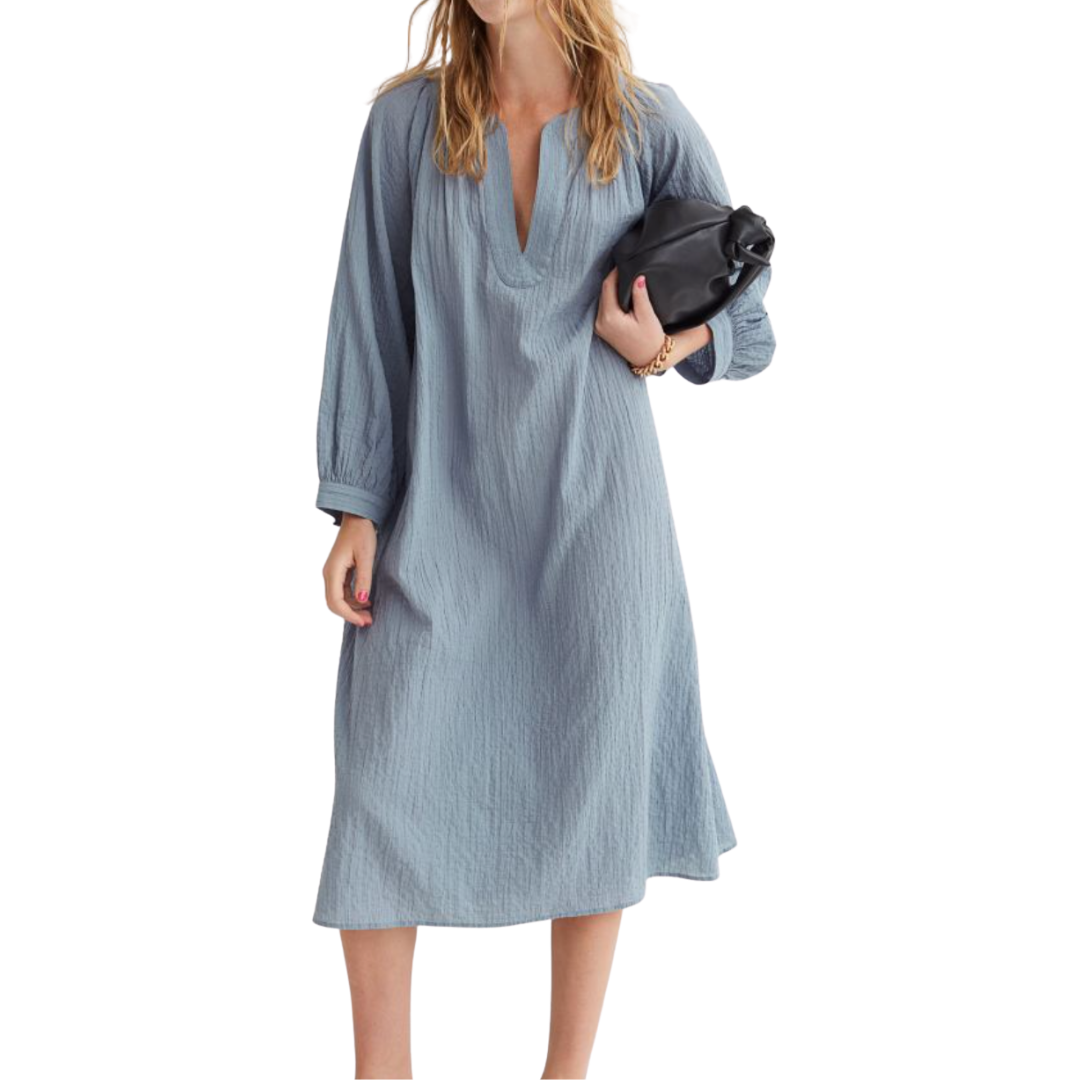 H&M - Crinkled Kaftan Dress