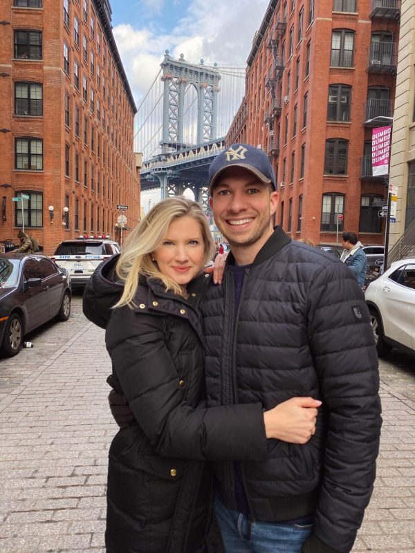 Ashley Brooke and Ryan in New York City
